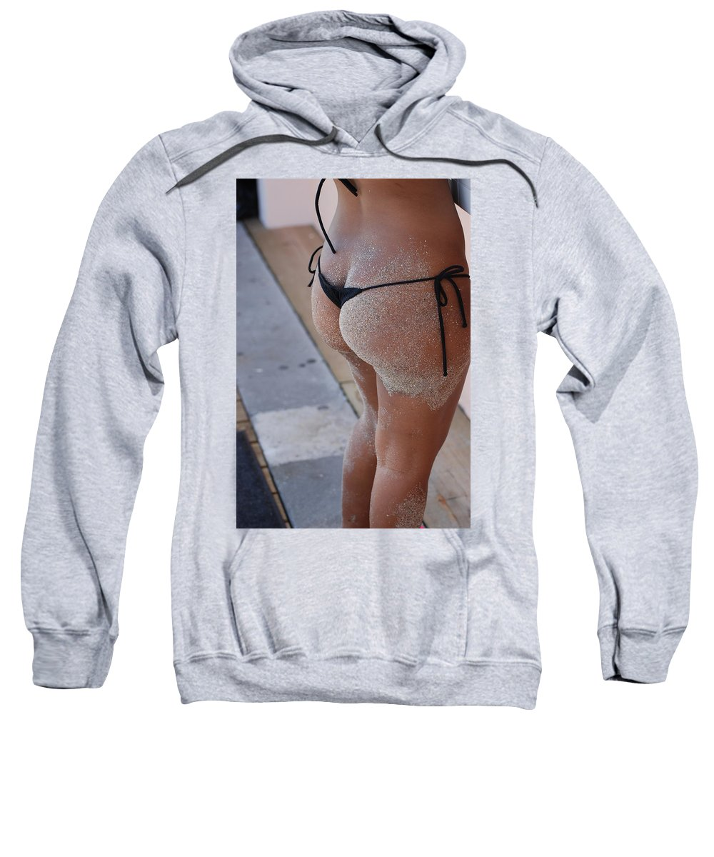 Women Sweatshirt featuring the photograph L W Thong by Rob Hans