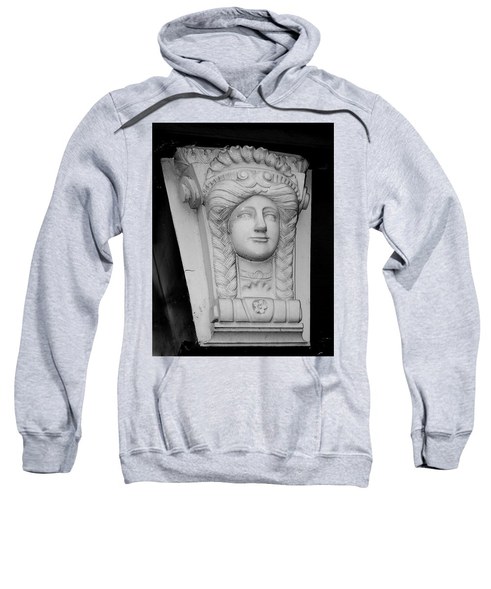 Athlone Sweatshirt featuring the photograph Lady Of The House Athlone Ireland by Teresa Mucha
