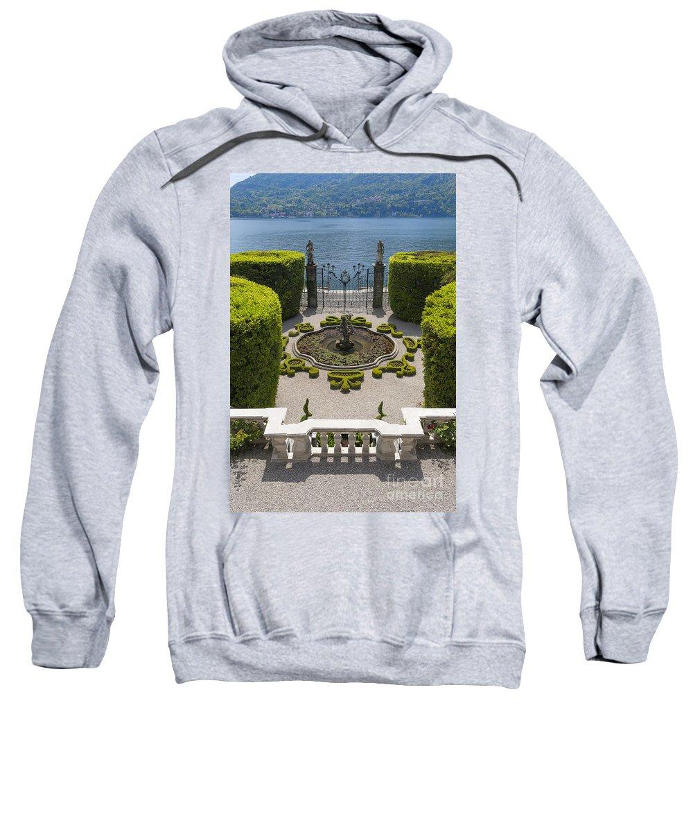 Europe Sweatshirt featuring the photograph Lake Como,villa Carlotta, Italy by Marco Arduino