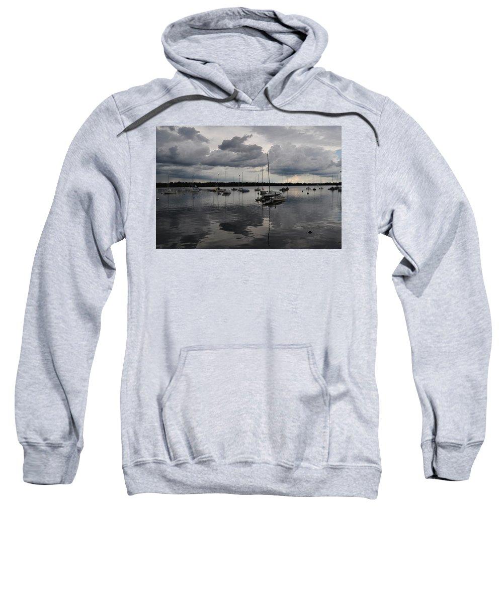 Lake Sweatshirt featuring the photograph Lake Harriet by Senthil Subramanian