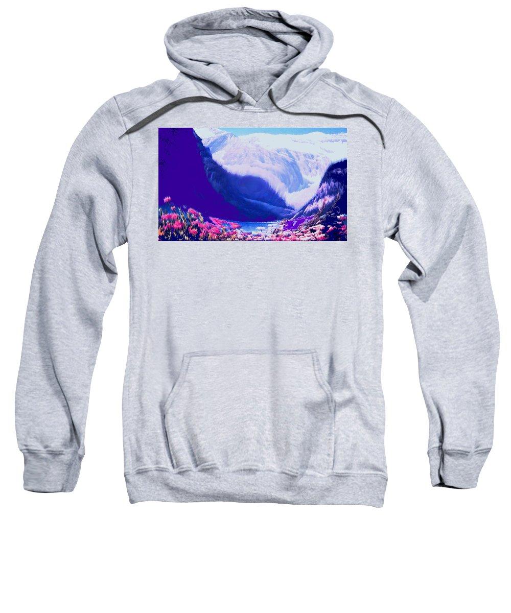 Lake Louise Sweatshirt featuring the photograph Lake Louise by Ian MacDonald