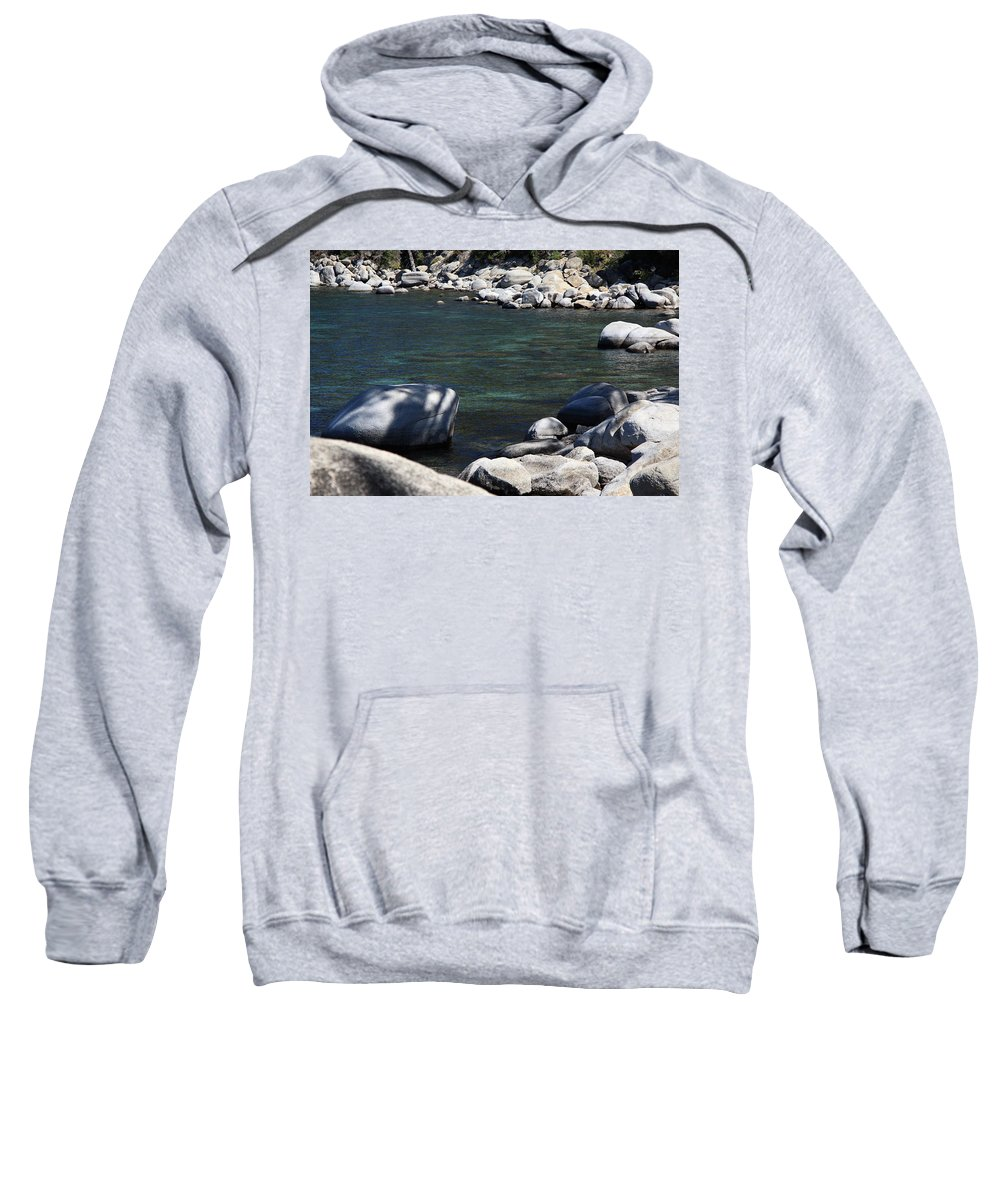 Alpine Sweatshirt featuring the photograph Lake Tahoe 22 by Frank Romeo
