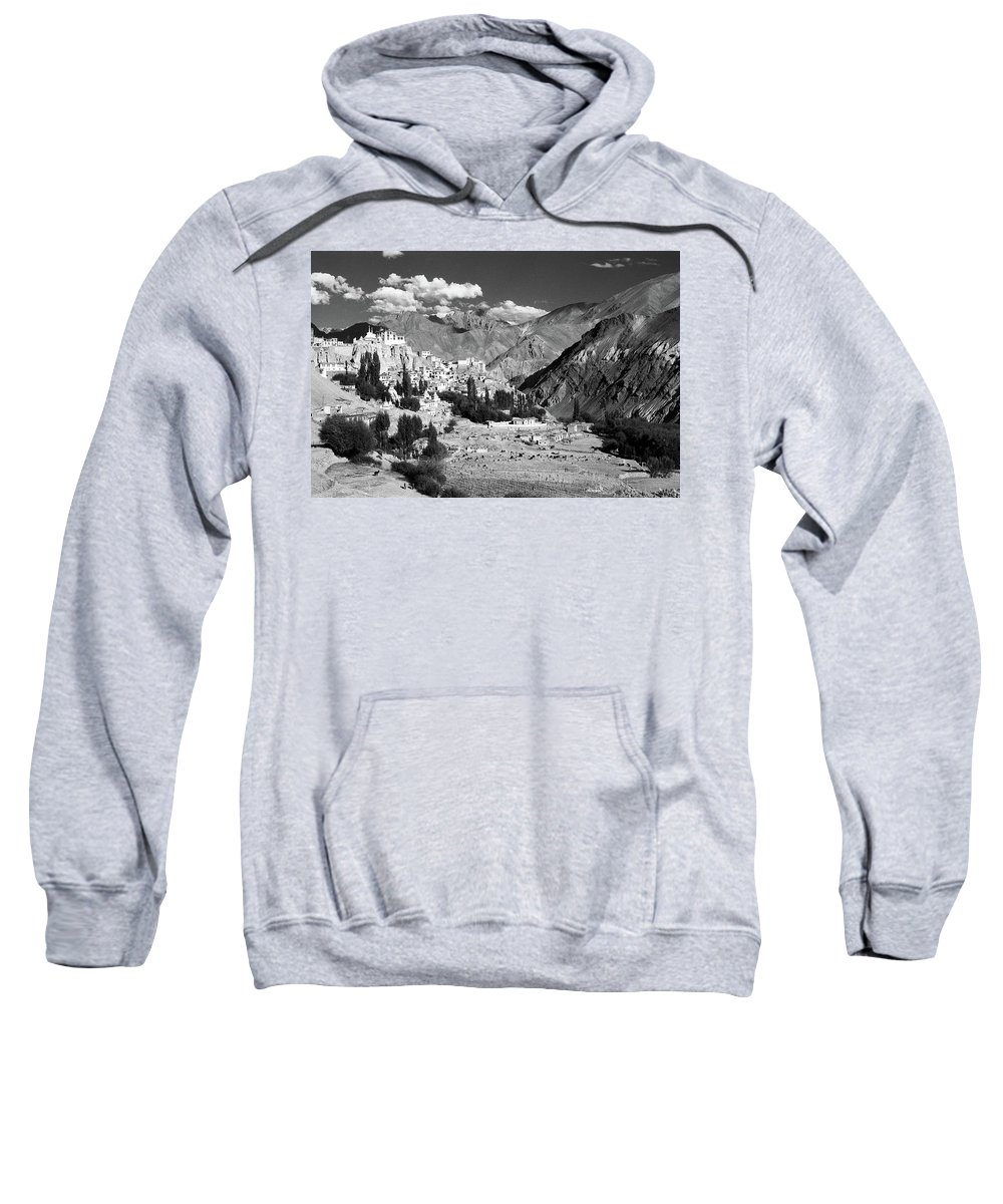 Lamayuru Sweatshirt featuring the photograph Lamayuru by Patrick Klauss