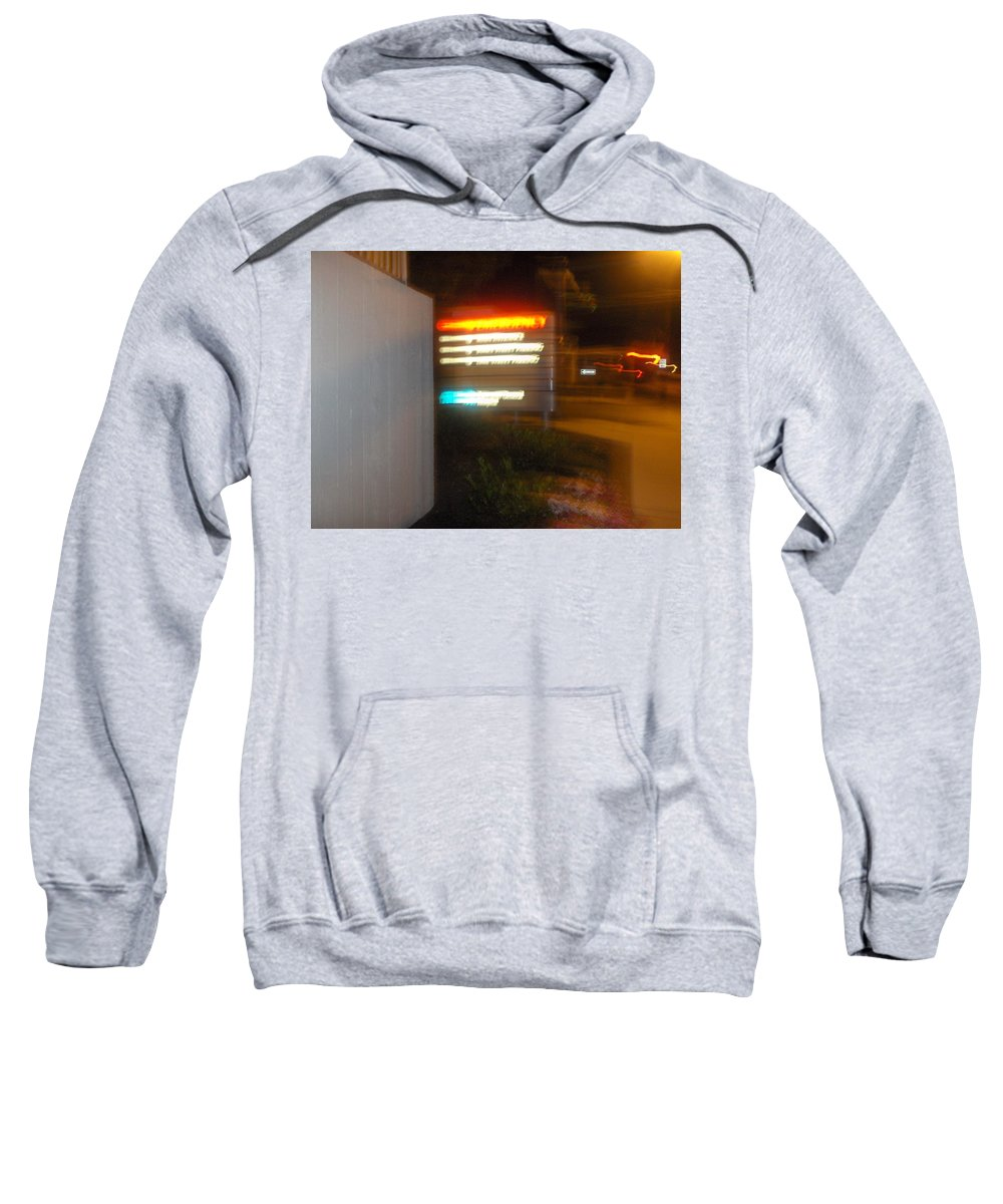 Photograph Sweatshirt featuring the photograph Lancaster Genral Entrance by Thomas Valentine