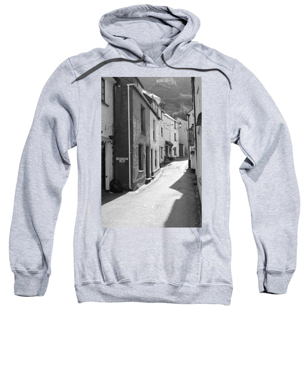 Street Sweatshirt featuring the photograph Landaviddy Lane by Lauri Novak