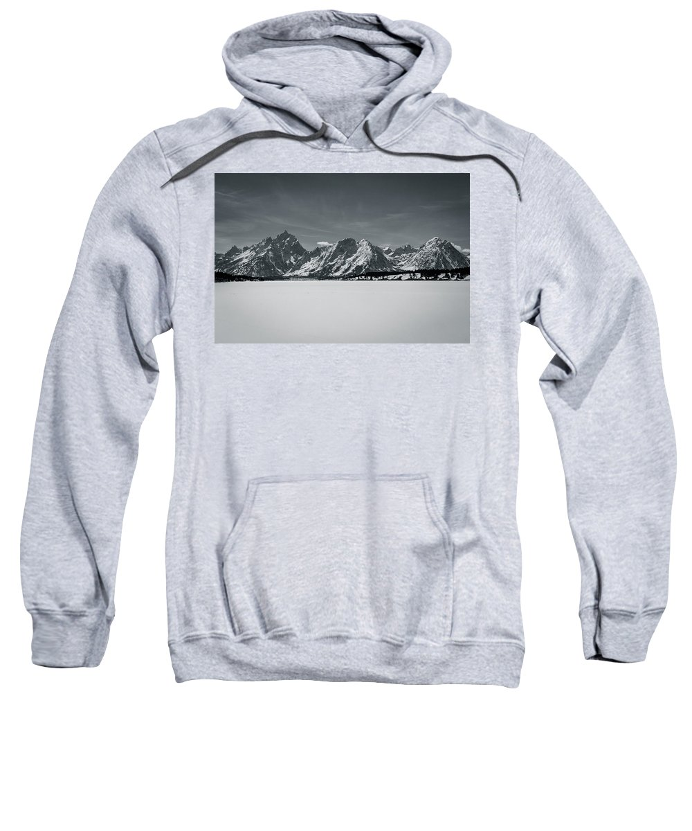 Jackson Sweatshirt featuring the photograph Landscape Contrast by John Duffy
