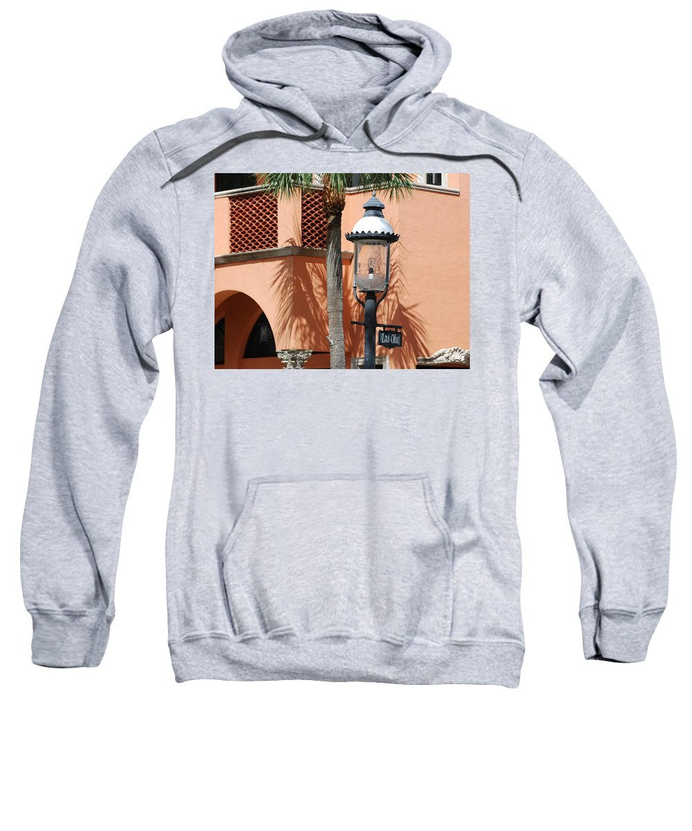 Lamp Posts Sweatshirt featuring the photograph Las Olas by Rob Hans