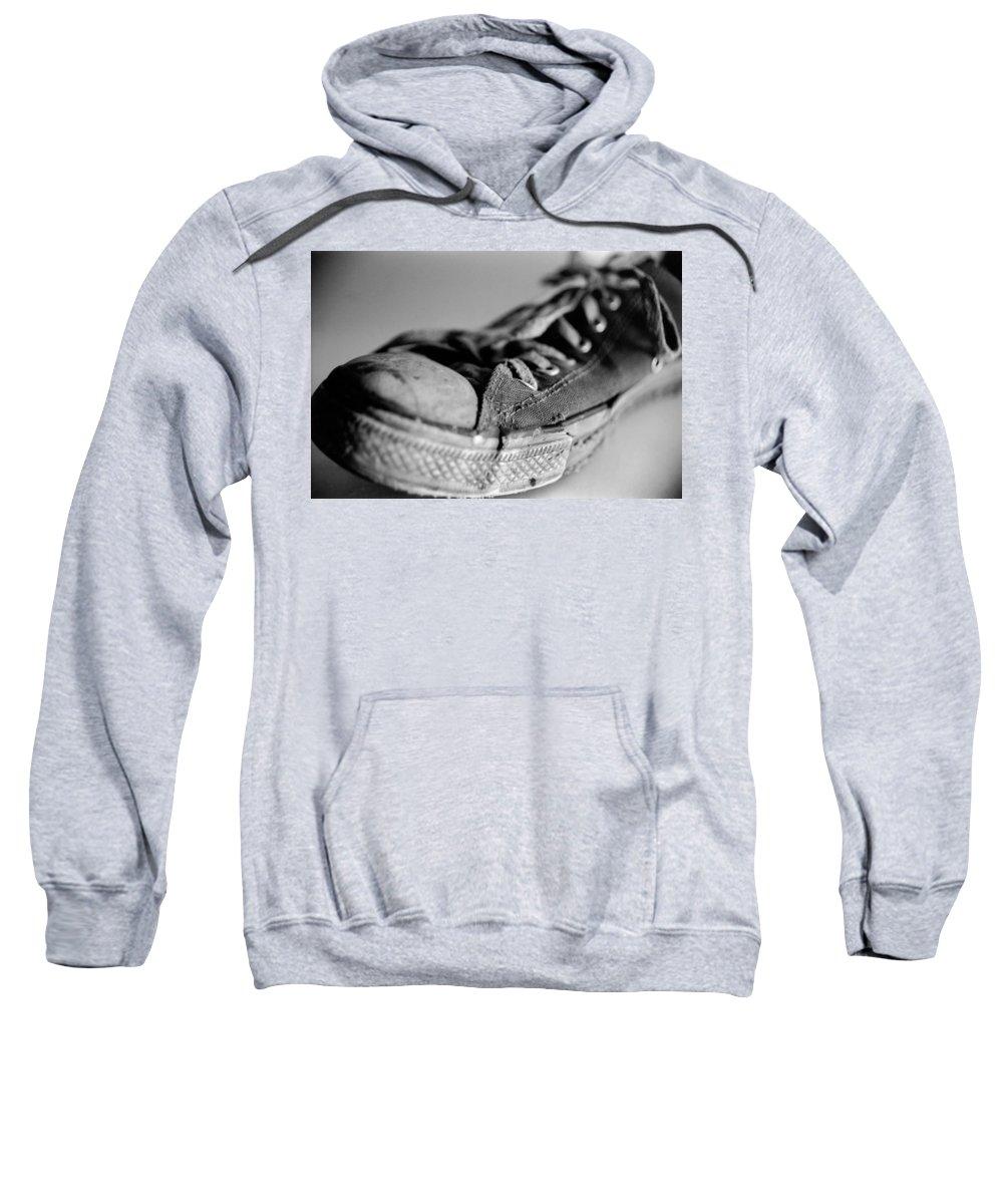 Chuck Taylor Sweatshirt featuring the photograph Last Leg by Jeffery Ball