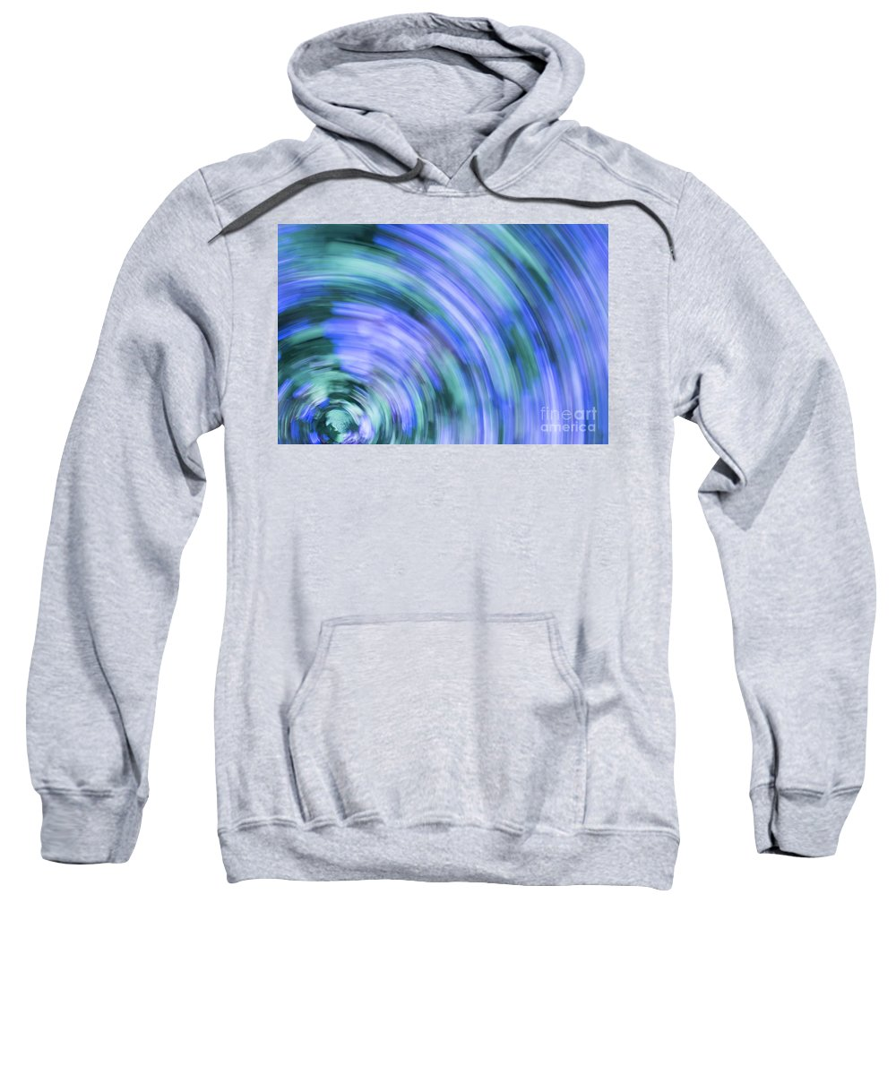 Abstract Sweatshirt featuring the photograph Lavender by Juli Scalzi