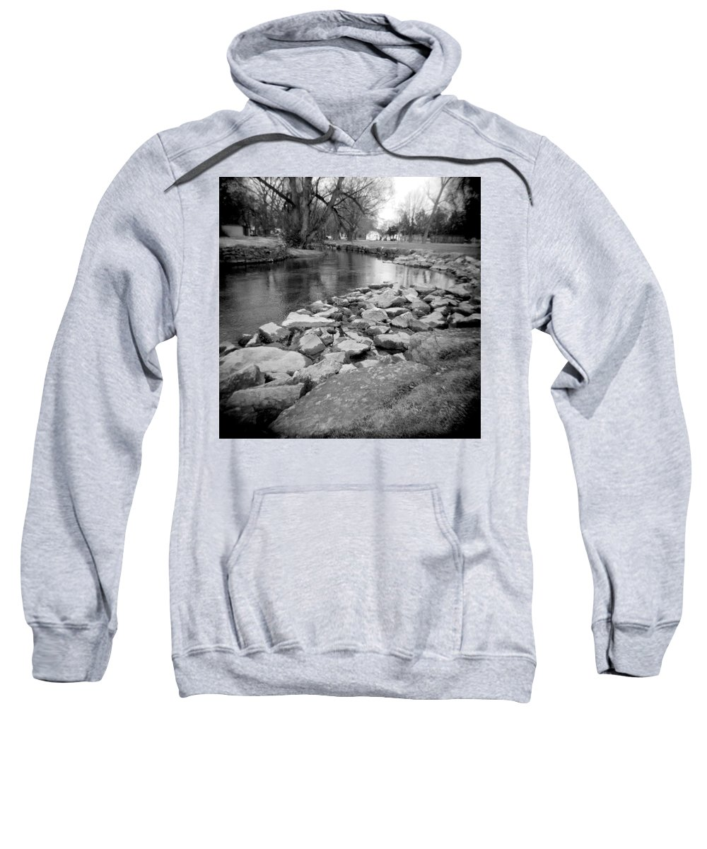 Photograph Sweatshirt featuring the photograph Le Tort Spring Run by Jean Macaluso
