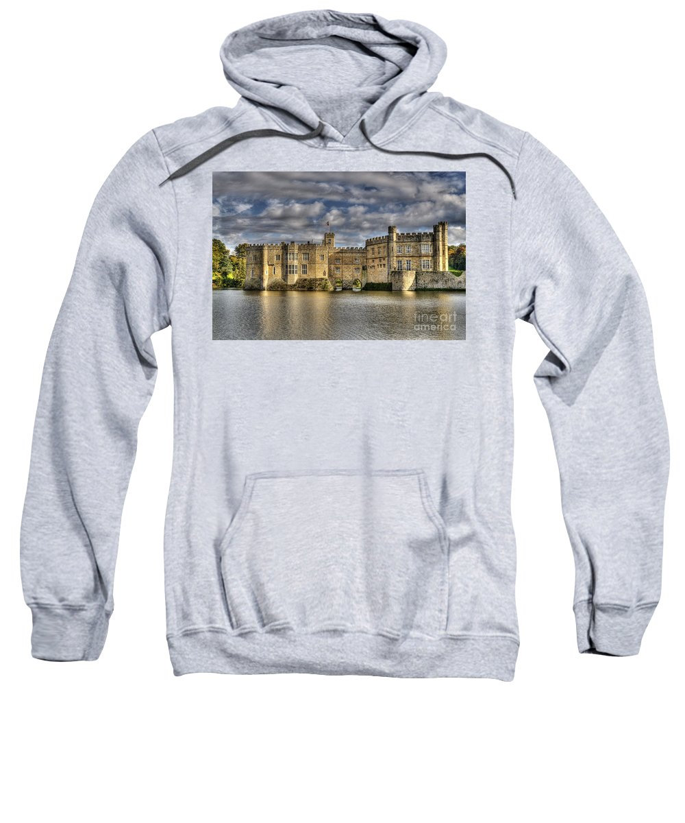 Castle Sweatshirt featuring the photograph Leeds Castle by Chris Thaxter