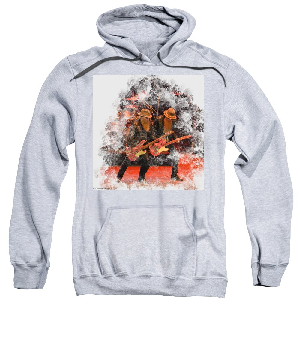 California Sweatshirt featuring the photograph Leggs by Tommy Anderson