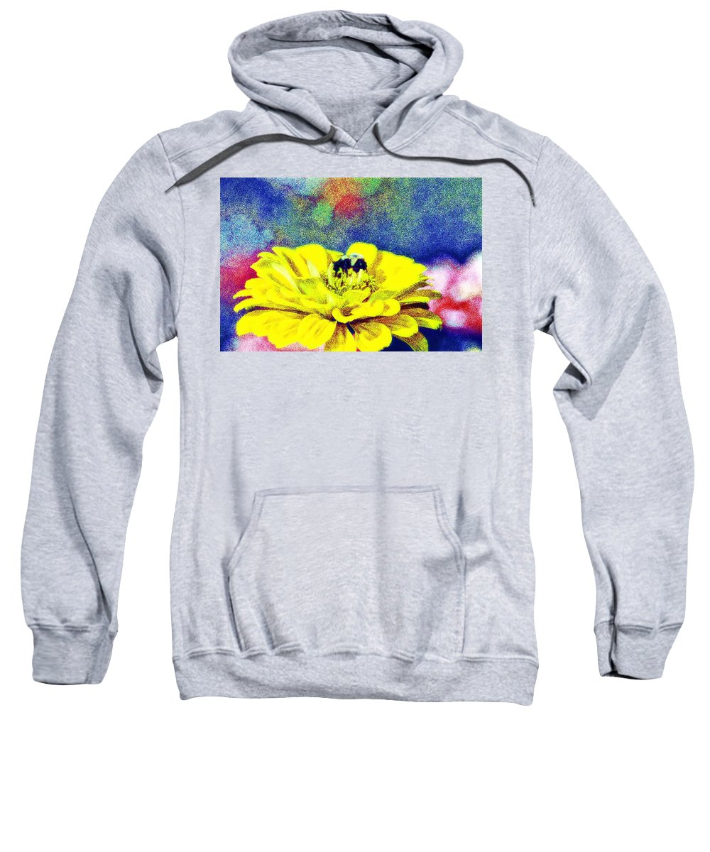 Bee Sweatshirt featuring the photograph Let It Bee by Bill Cannon