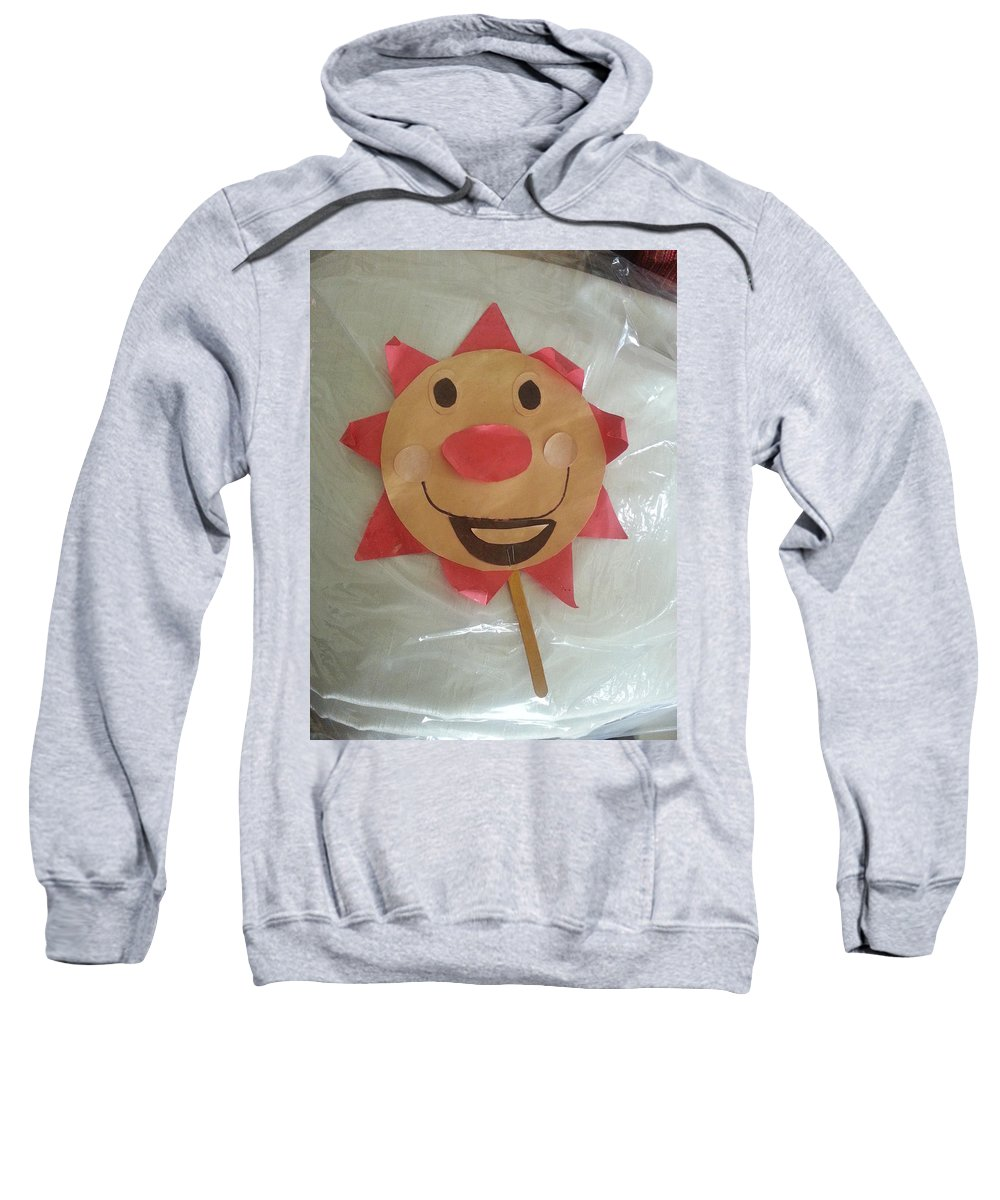 Let The Sunshine In Sweatshirt featuring the photograph Let The Sunshine In by Blue Doves
