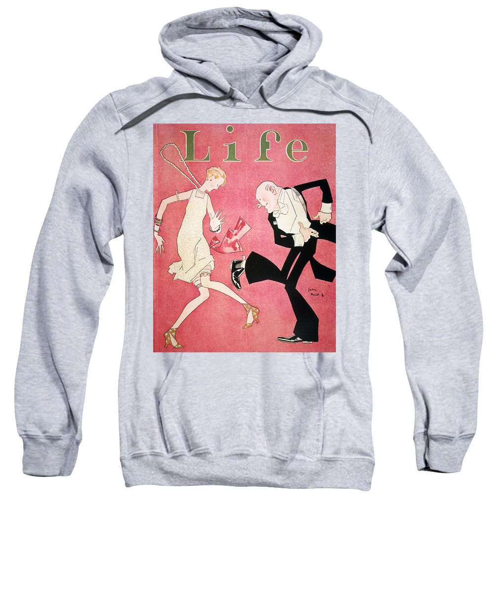1926 Sweatshirt featuring the photograph Life Magazine Cover, 1926 by Granger