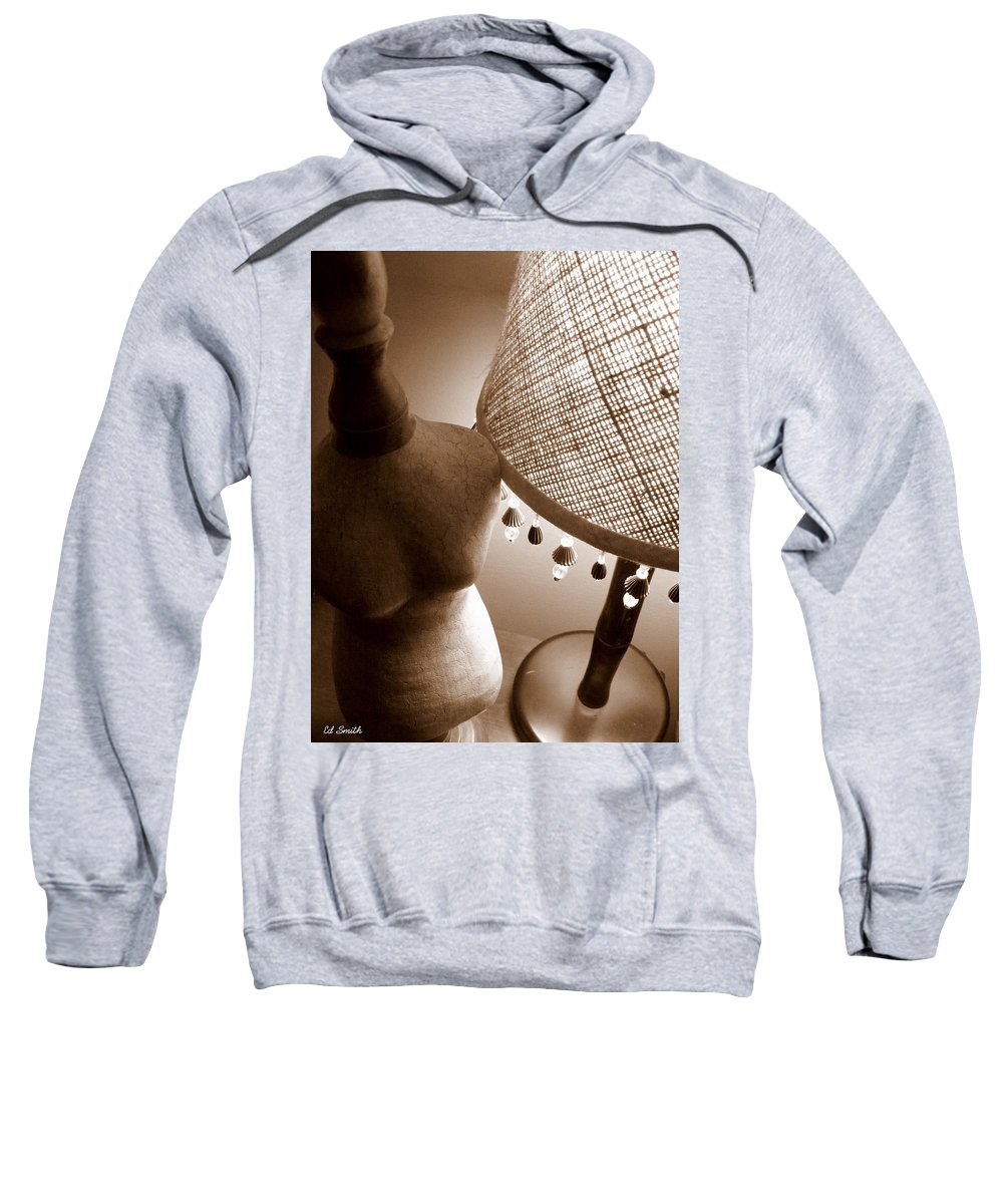 Light Of My Life Sweatshirt featuring the photograph Light Of My Life by Ed Smith