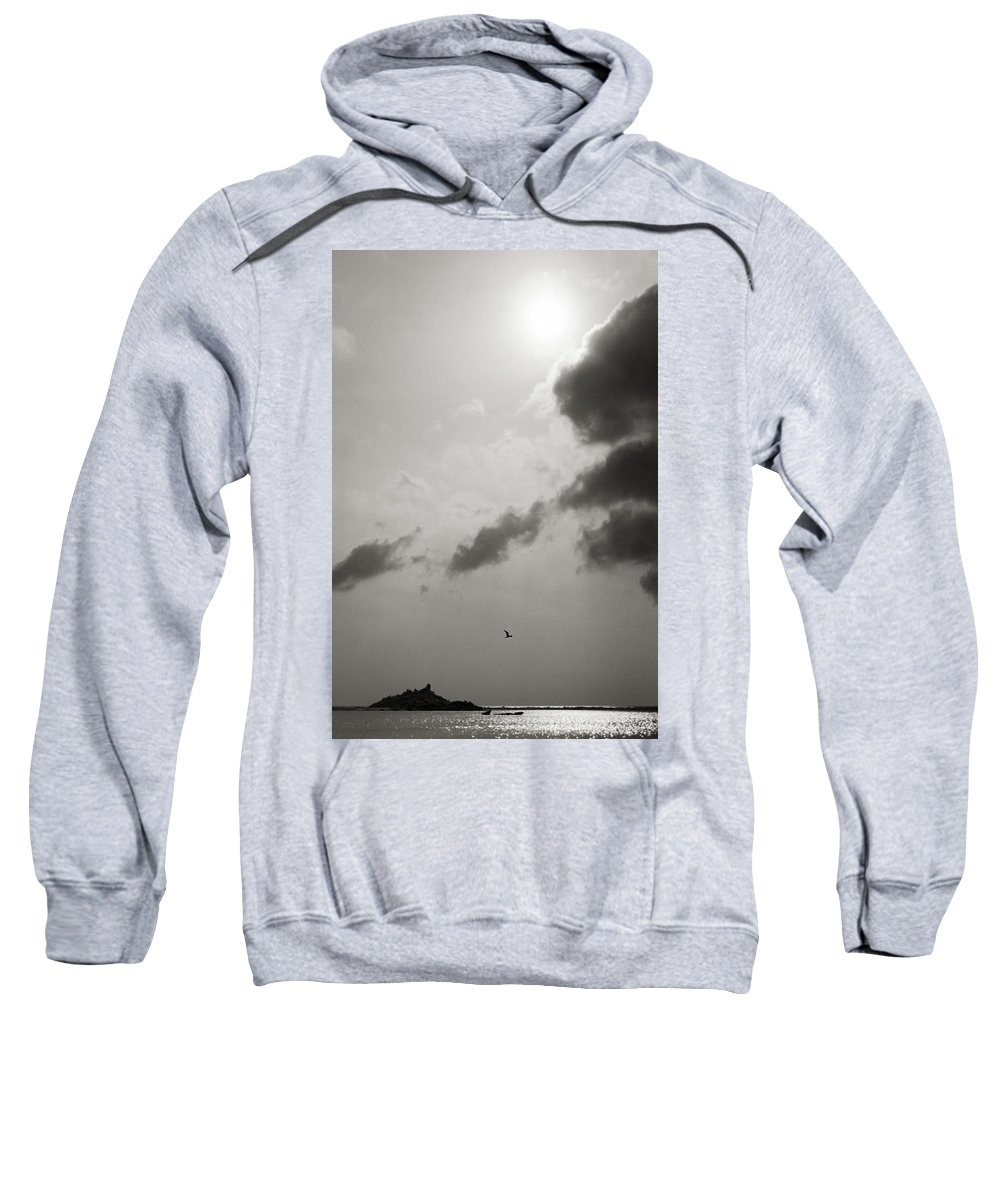 Abstract Sweatshirt featuring the photograph Light Of The Sky by Konstantin Dikovsky
