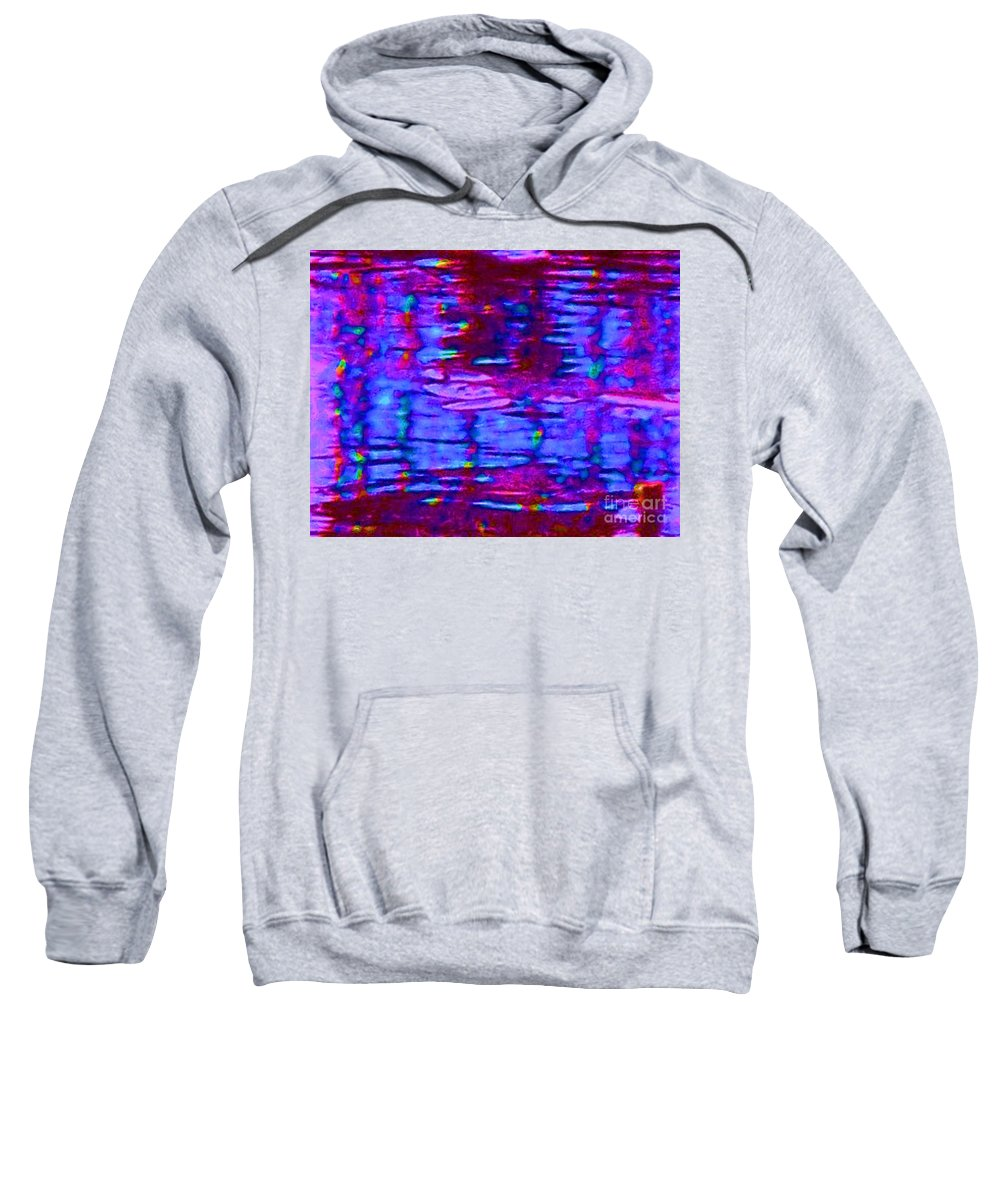 Light Sweatshirt featuring the painting Lighthouse Abstract by Eric Schiabor