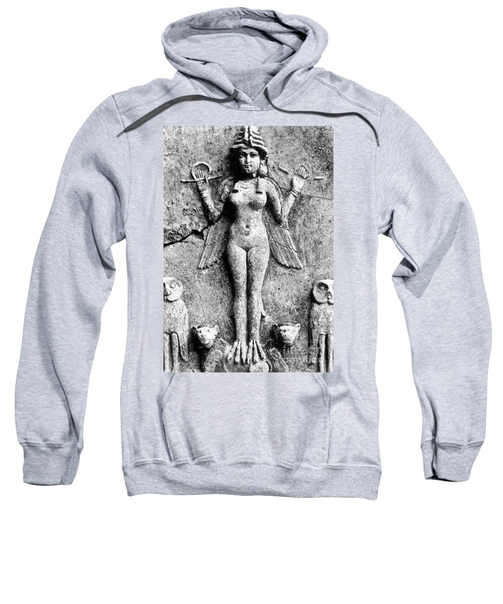 1st Sweatshirt featuring the photograph Lilith, C1950 B.c by Granger