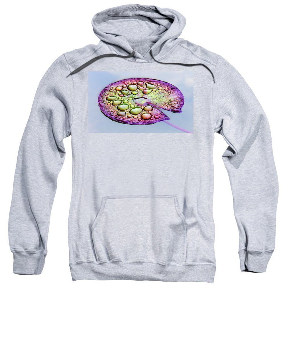 Lillypad Sweatshirt featuring the digital art Lillypad by Robert Meanor