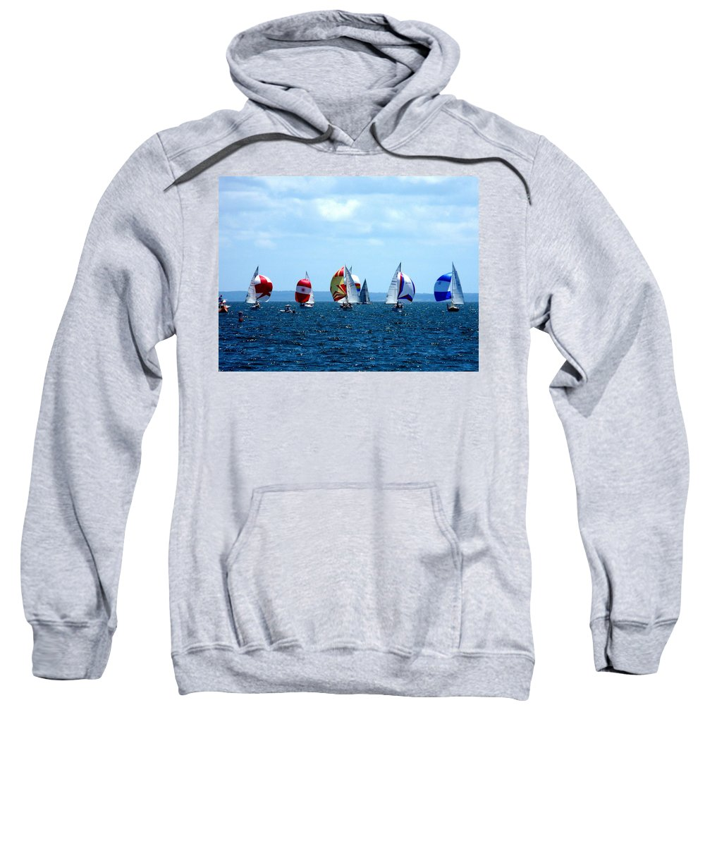 Landscape Sweatshirt featuring the photograph Line Up by Kendall Eutemey