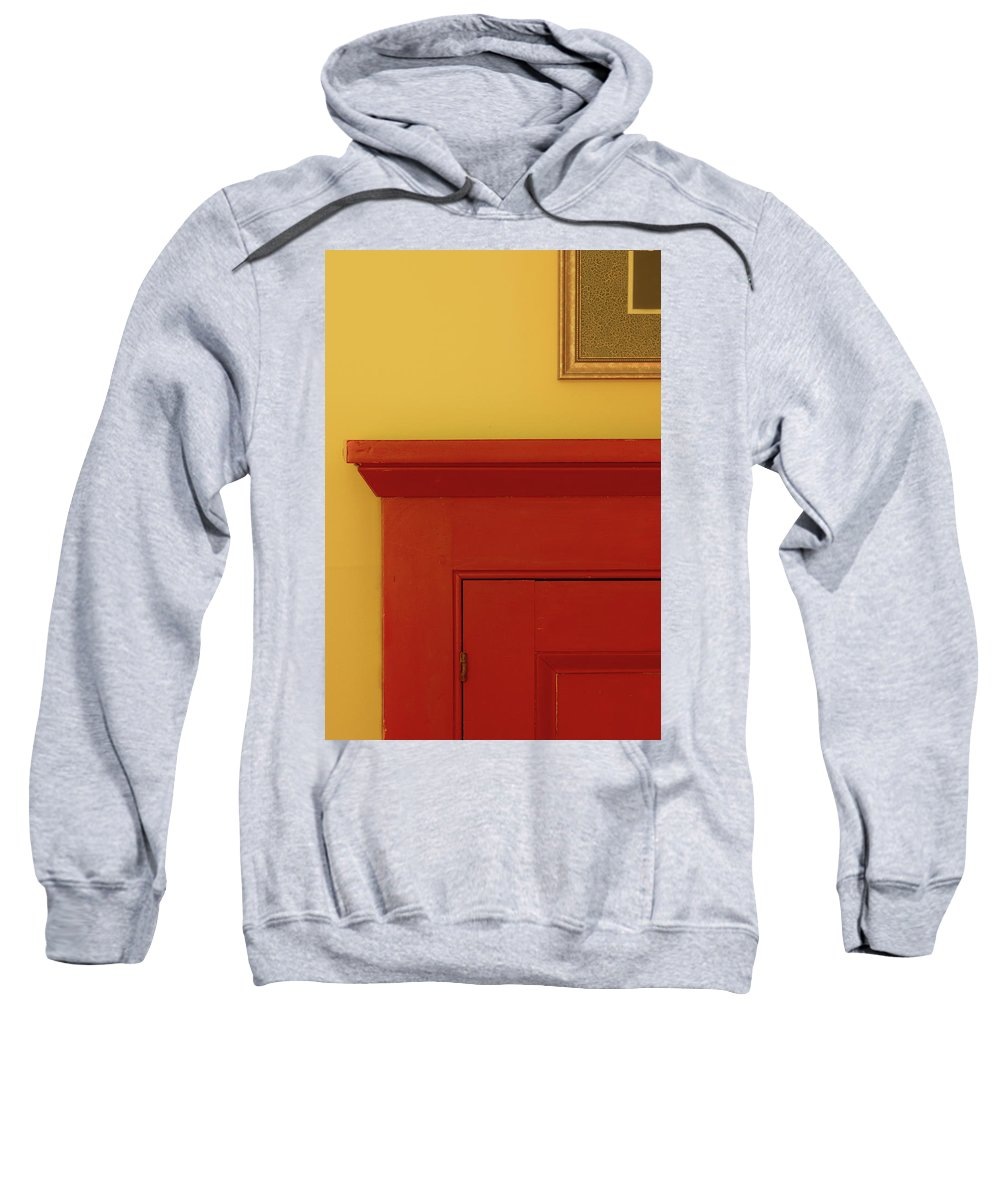Minimalism Sweatshirt featuring the photograph Lines And Color by Joy Schmitz