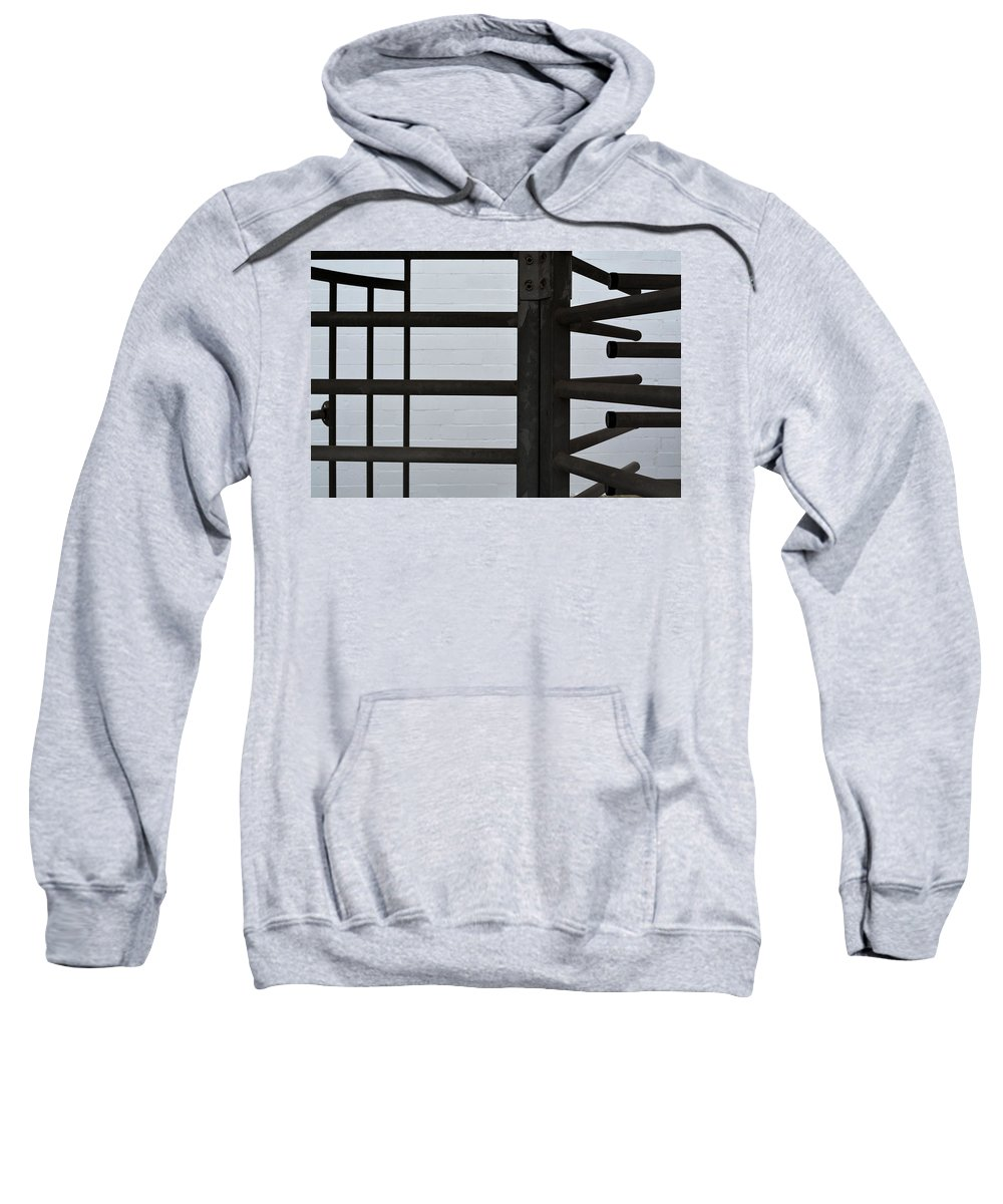 Lines Sweatshirt featuring the photograph Lines And Spaces by Josephine Buschman