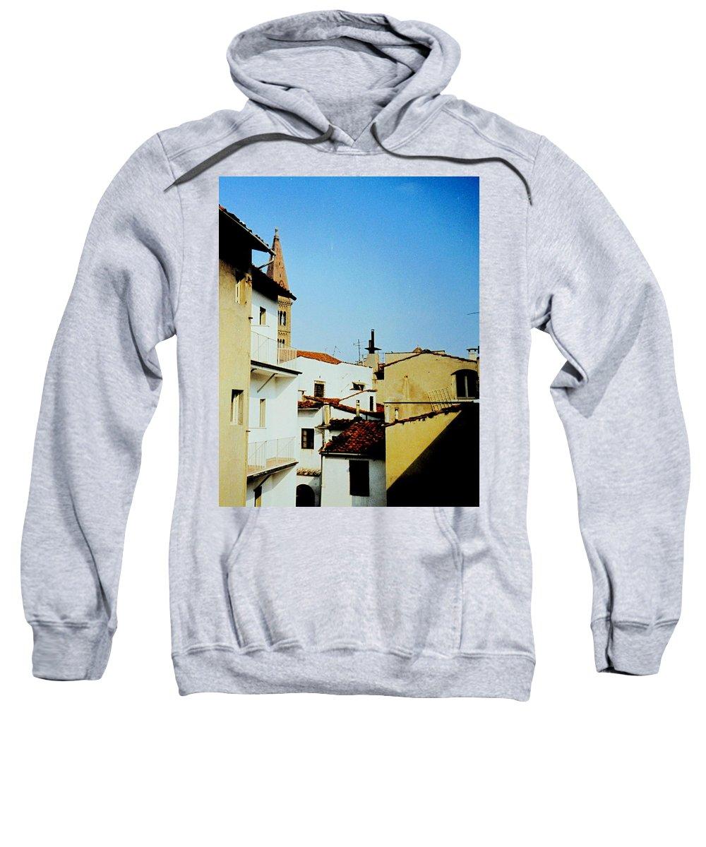 Lisbon Sweatshirt featuring the photograph Lisbon Angles by Ian MacDonald