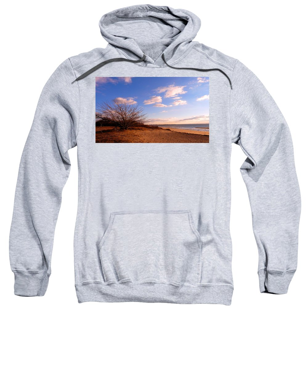 Landscape Sweatshirt featuring the photograph Listen To The Quiet by Kendall Eutemey