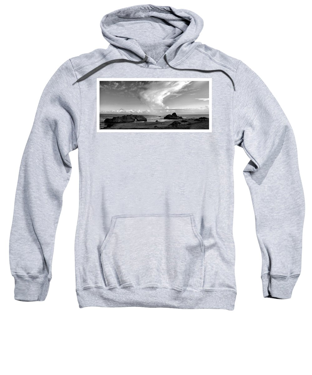 Sweatshirt featuring the photograph Litoral Central by Galeria Trompiz