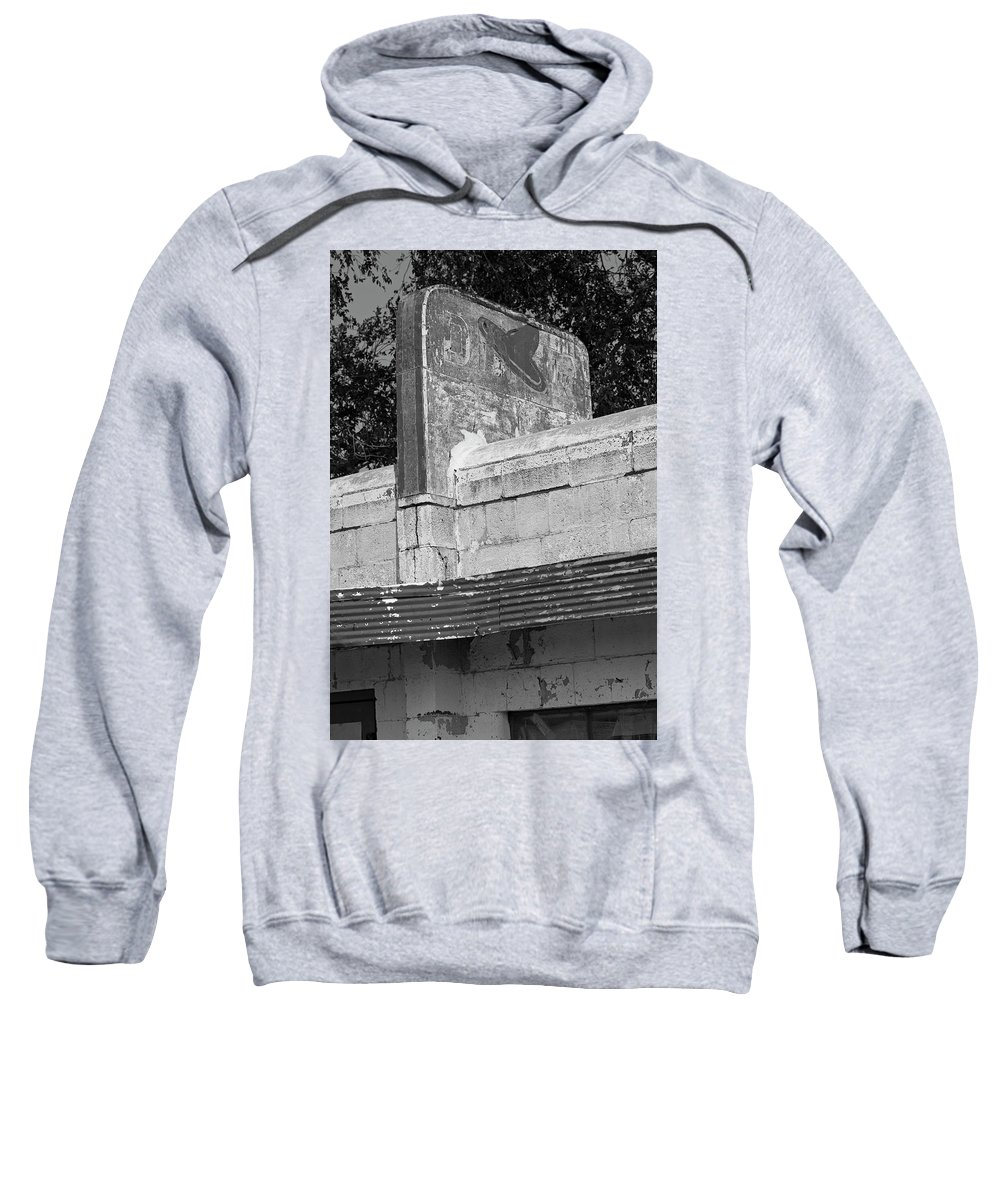 Route 66 Sweatshirt featuring the photograph Little Juarez Cafe In Glenrio, Texas by Rick Pisio