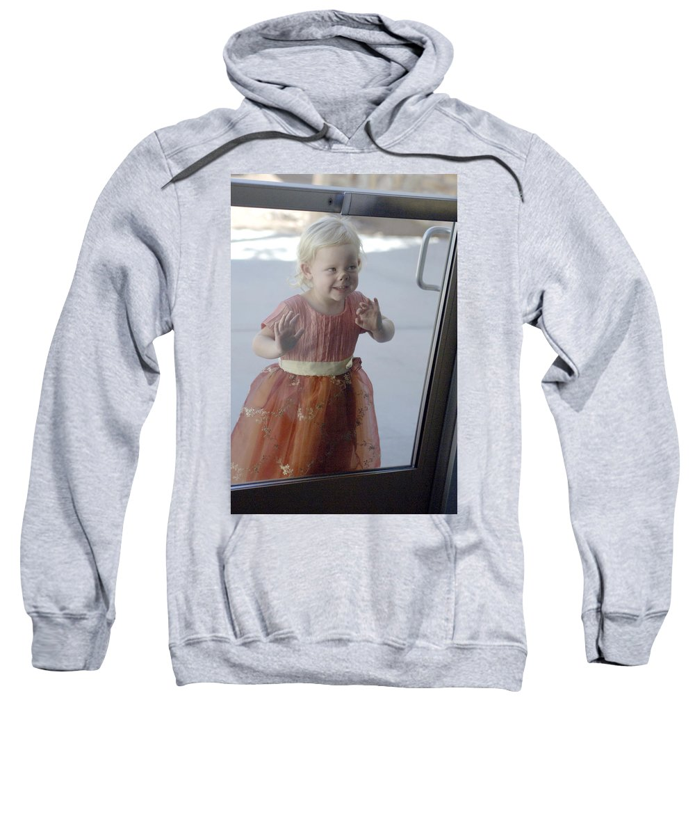Funny Sweatshirt featuring the photograph Little Piggy by Jill Reger