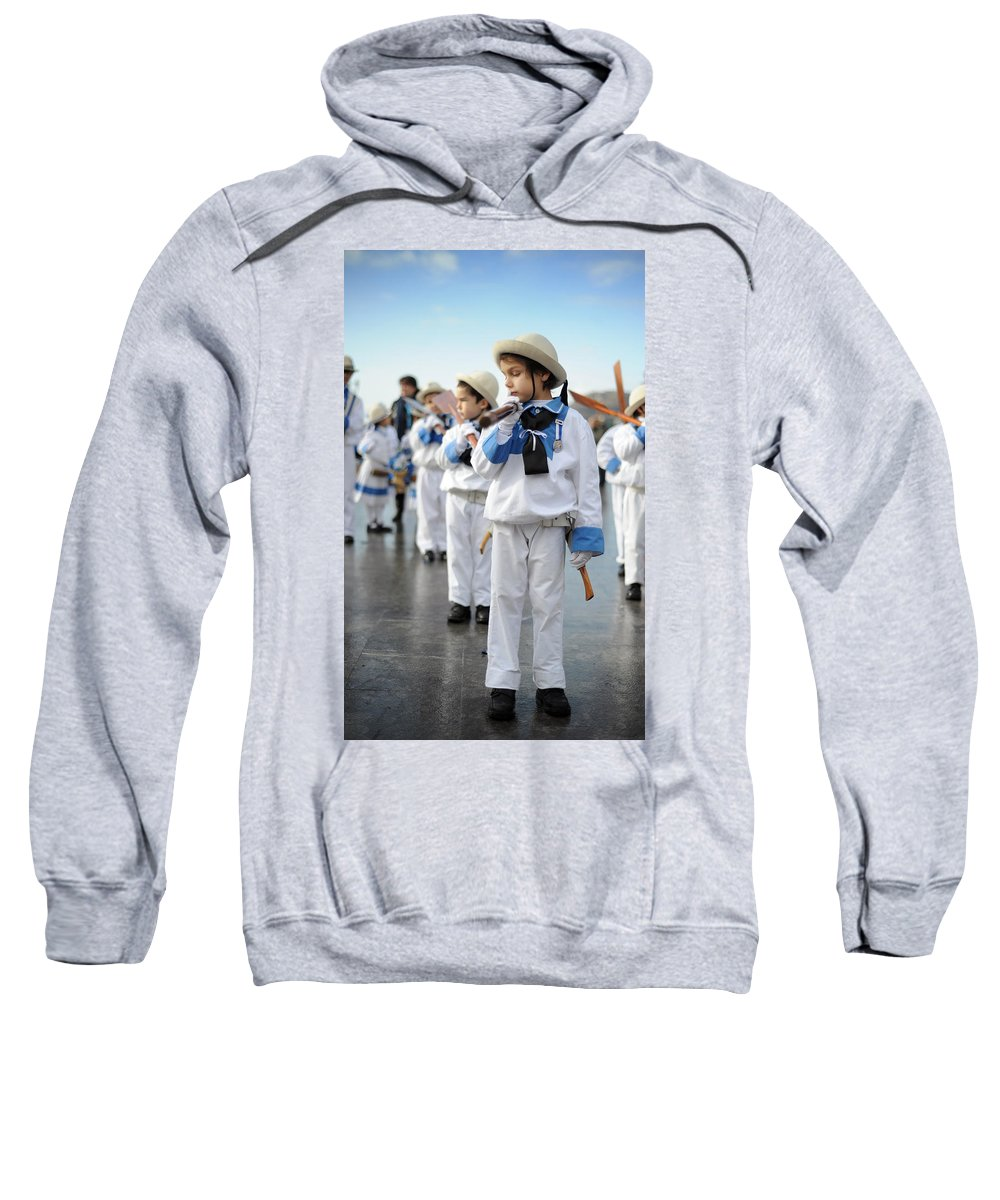 Spain Sweatshirt featuring the photograph Little Sailors by Rafa Rivas