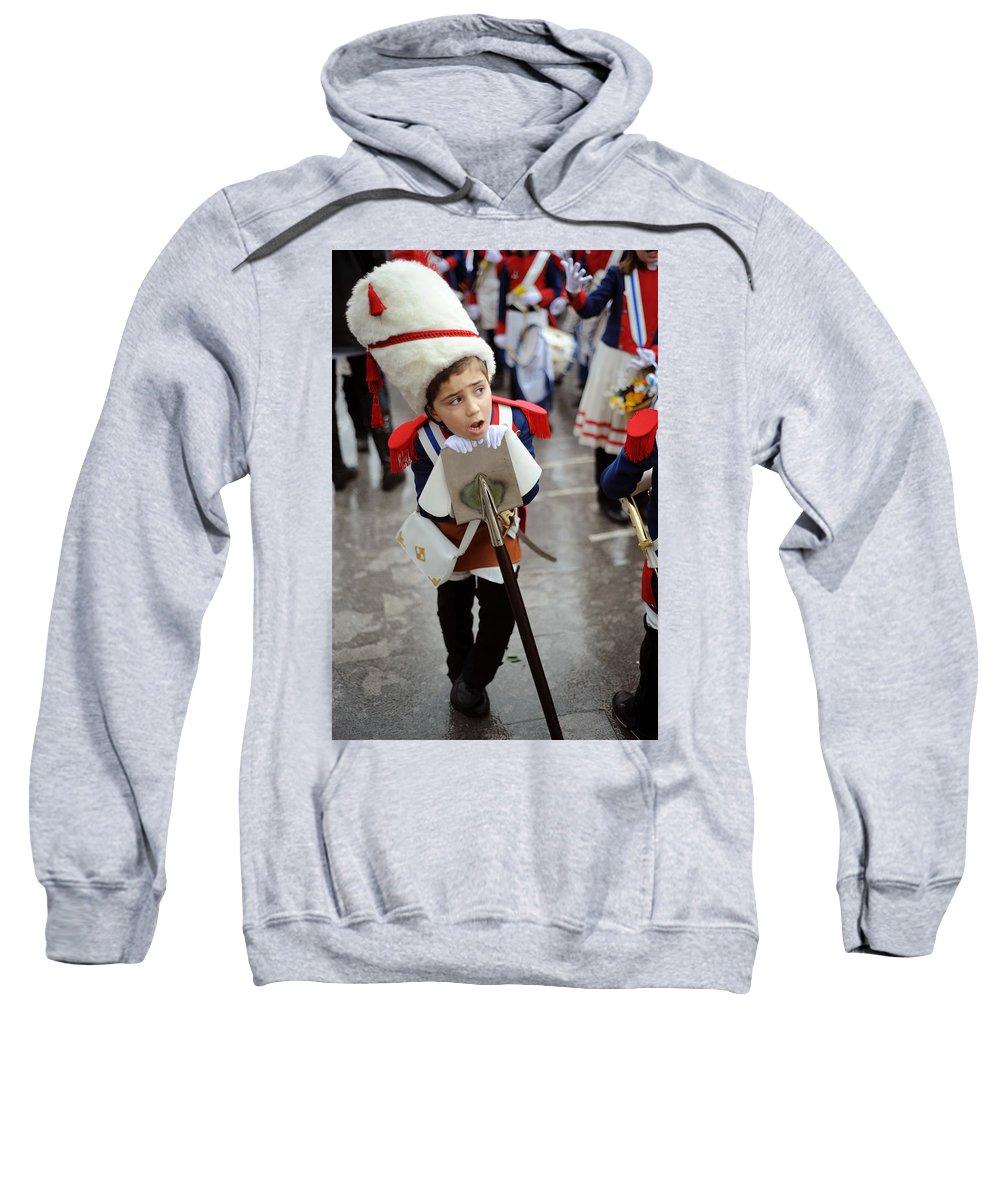 Spain Sweatshirt featuring the photograph Little Soldier by Rafa Rivas