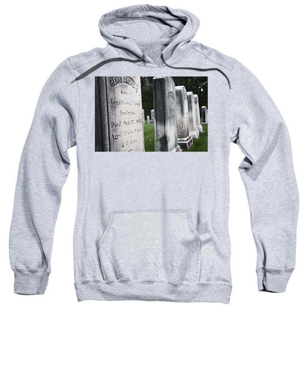 Scenic Sweatshirt featuring the photograph Live For The Day by Erin Rosenblum