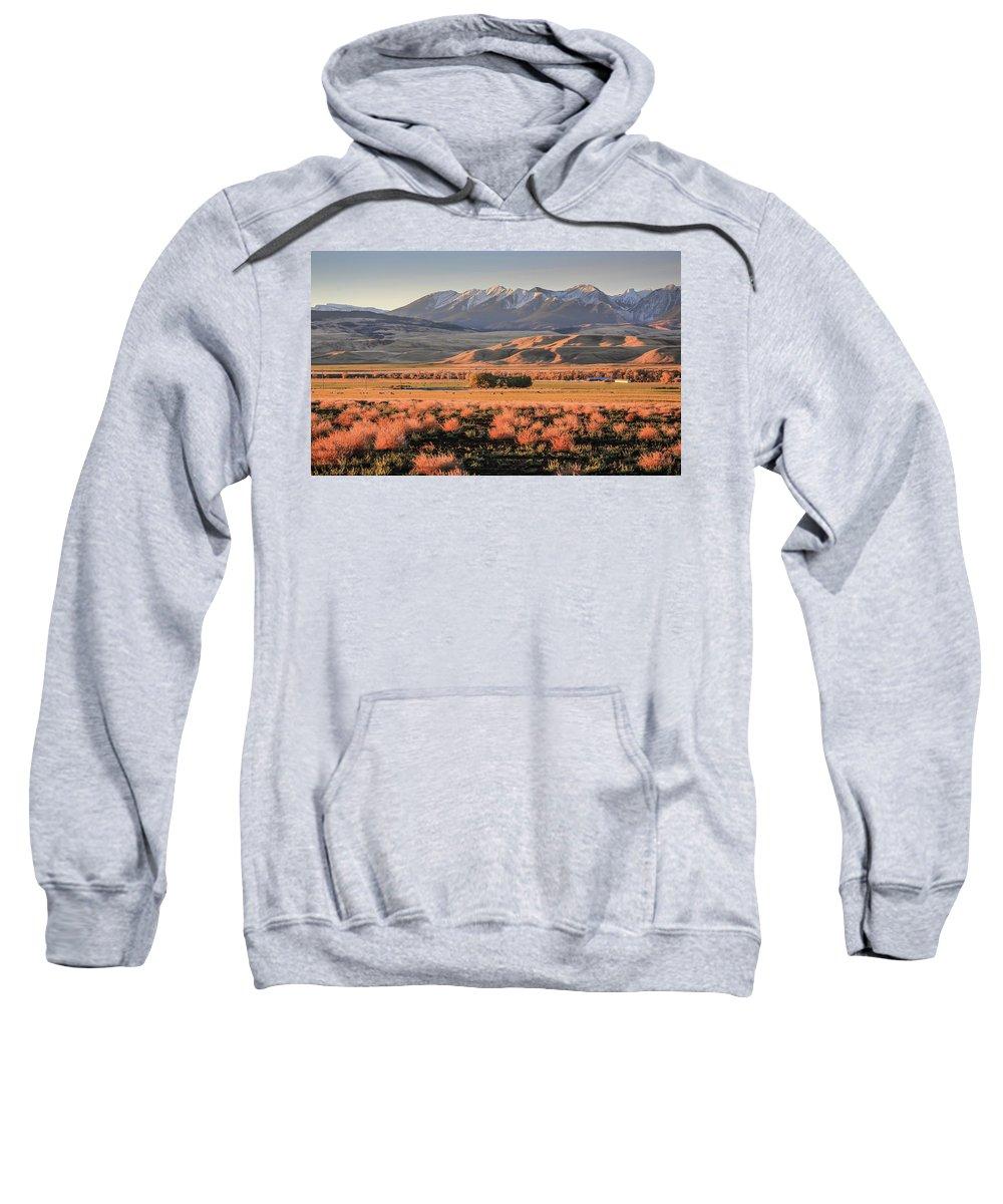 Sam Amato Photography Sweatshirt featuring the photograph Livingston Montana by Sam Amato