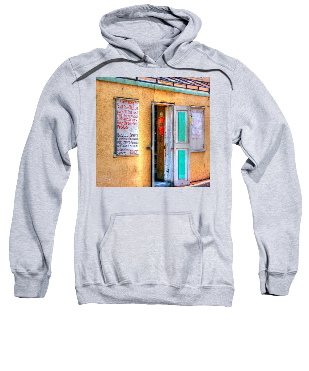 Store Sweatshirt featuring the photograph Local Store by Debbi Granruth