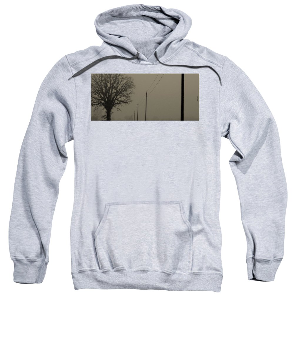 Long Distance Call Sweatshirt featuring the photograph Long Distance Call by Ed Smith