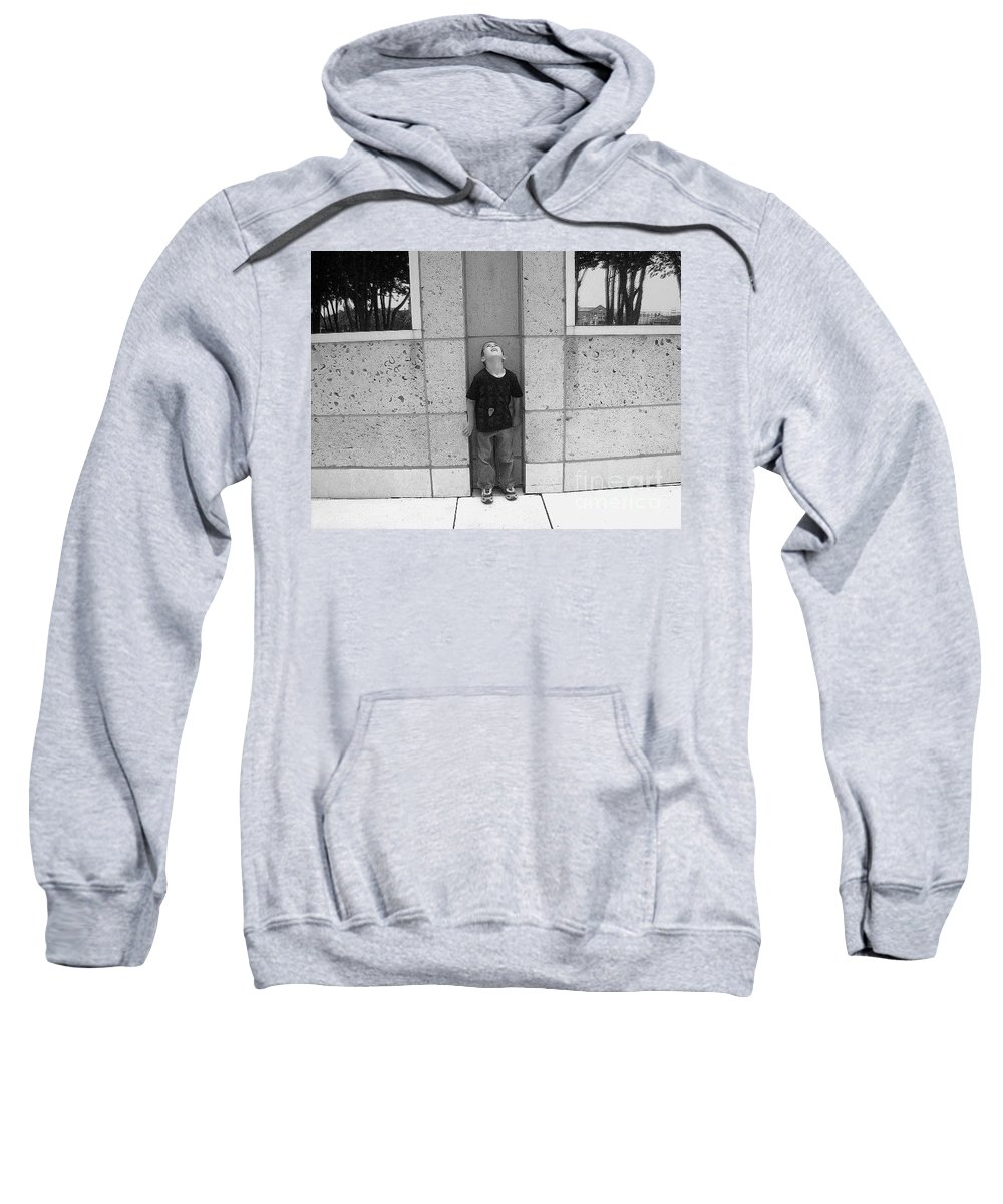 Building Sweatshirt featuring the photograph Looken Up by Michelle S White