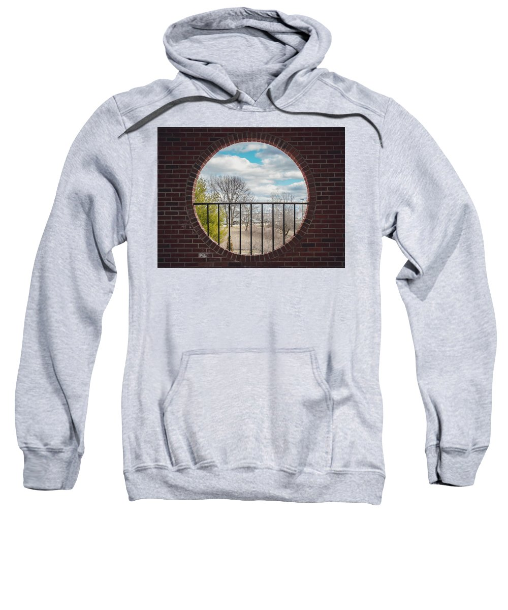 Brick Sweatshirt featuring the photograph Looking Brick by Zachary Jolly