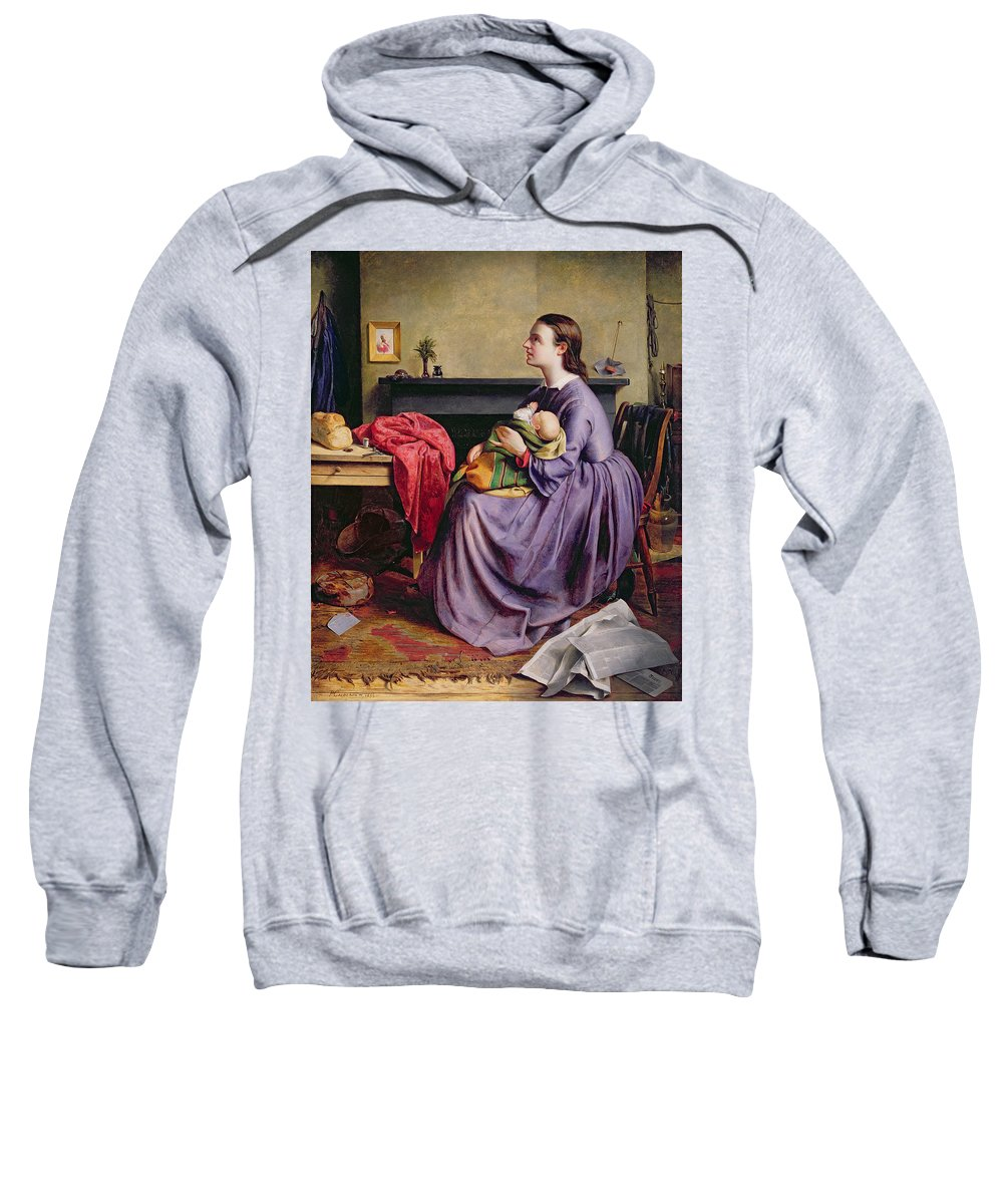 Lord Sweatshirt featuring the painting Lord - Thy Will Be Done by Philip Hermogenes Calderon
