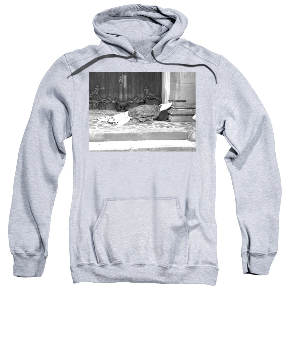 Homeless Sweatshirt featuring the photograph Lost Hopes by Shannon Turek