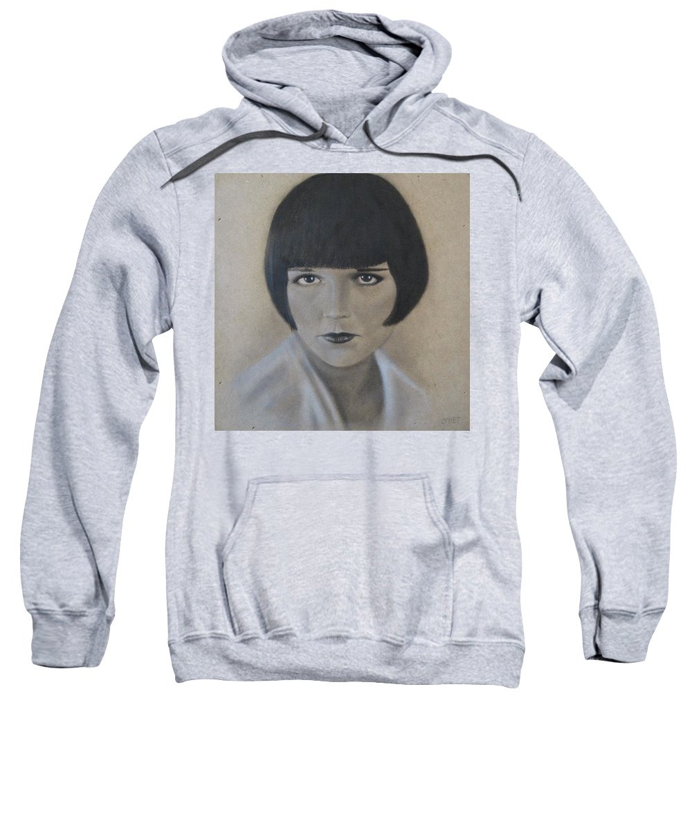 Woman Sweatshirt featuring the painting Louise by Lynet McDonald