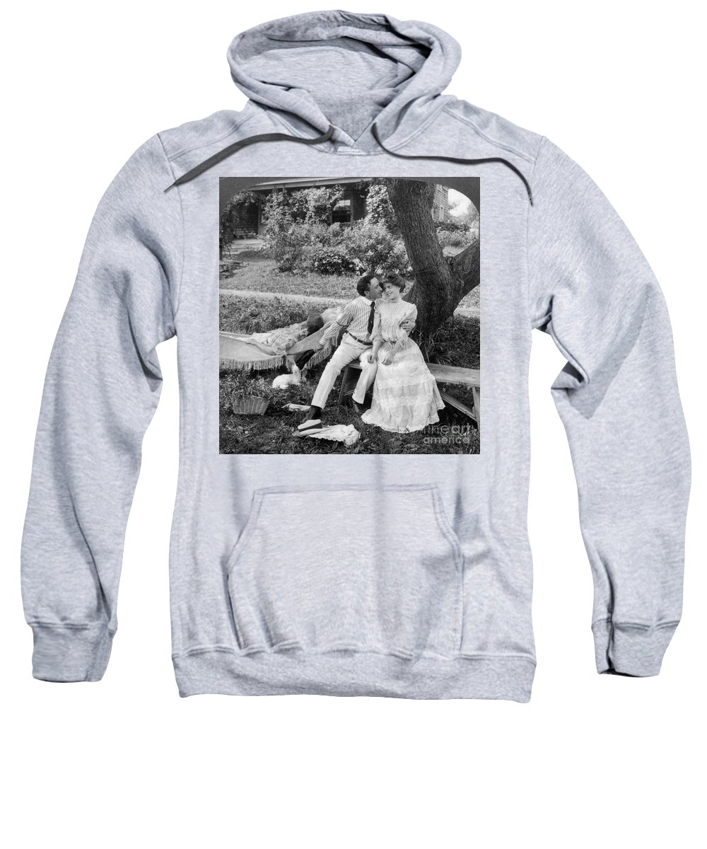 20th Century Sweatshirt featuring the photograph Love, 1906 by Granger