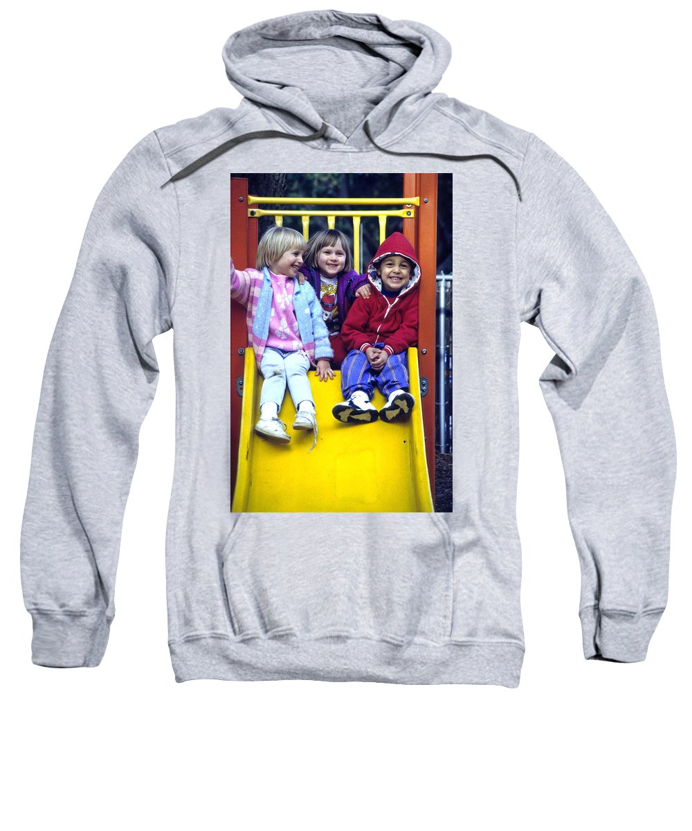 Girl Sweatshirt featuring the photograph Love Thy Neighbor by Laurie Paci