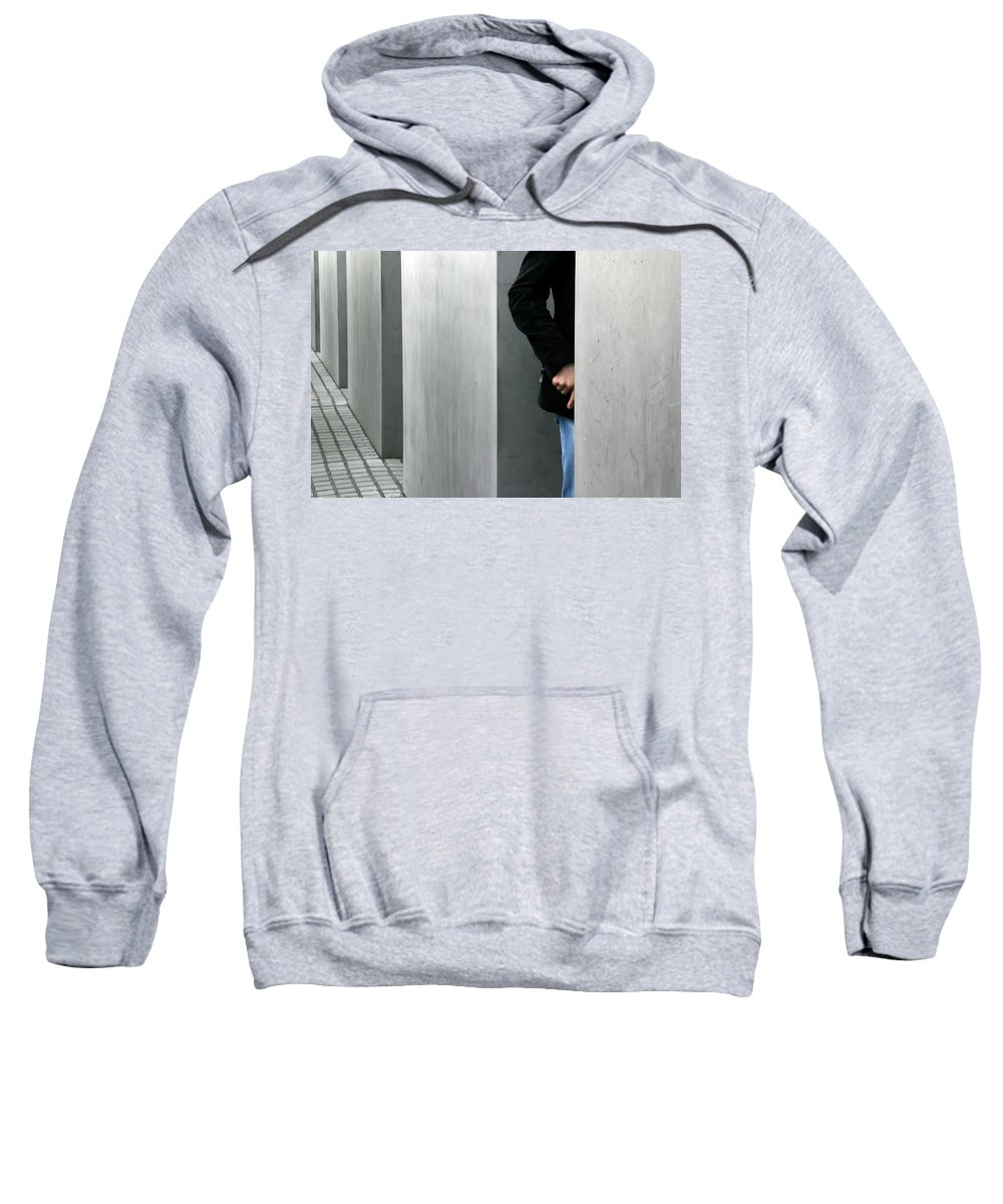 Berlin Sweatshirt featuring the photograph Lovers In Berlin by KG Thienemann