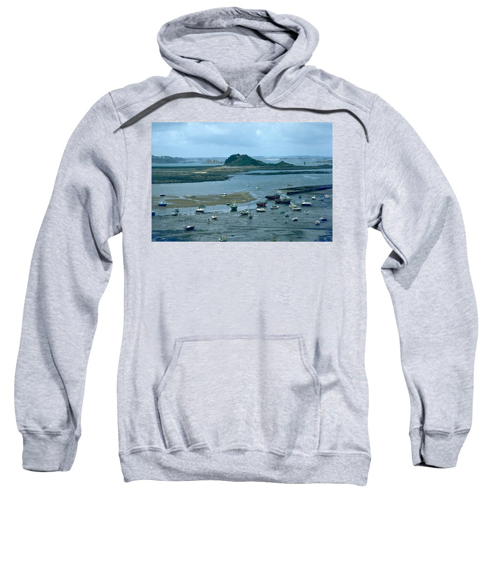 Low Tide Sweatshirt featuring the photograph Low Tide by Flavia Westerwelle