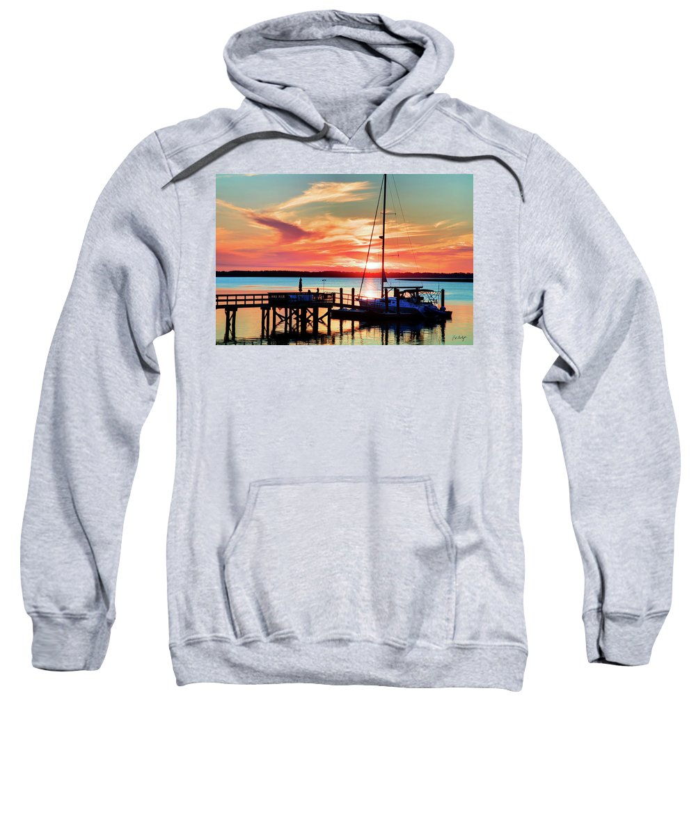 Boating Sweatshirt featuring the photograph Lowcountry Leisure by Phill Doherty
