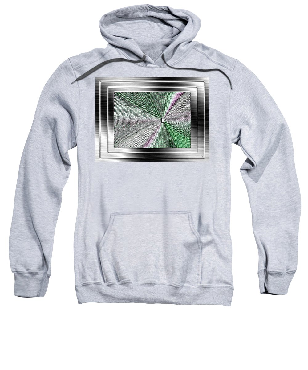 Abstract Sweatshirt featuring the digital art Luminous Energy 13 by Will Borden