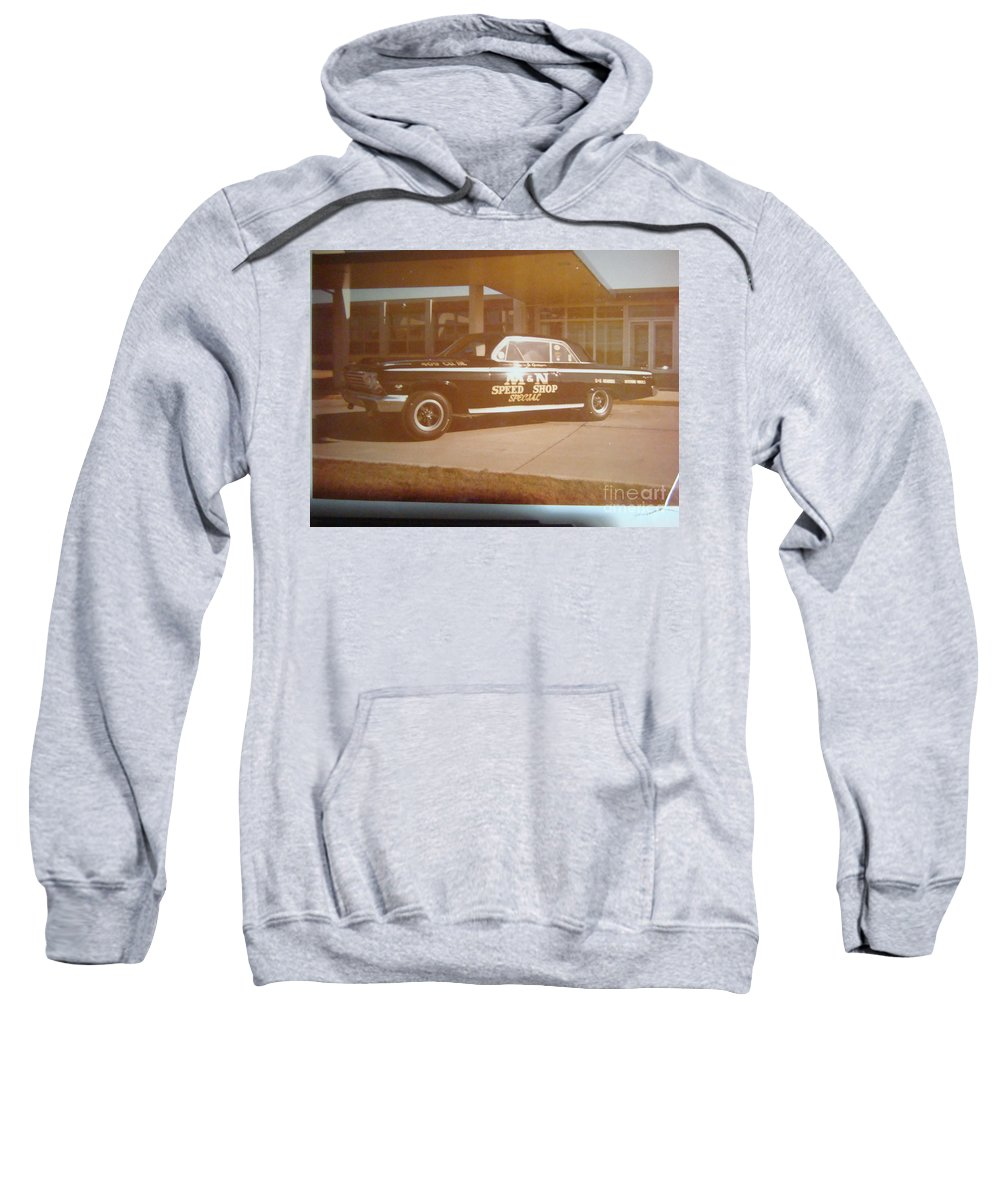 Drag Racing Sweatshirt featuring the photograph M And N Speed Shop Special by Tom Geiger